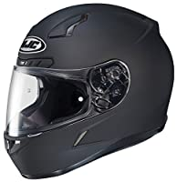 HJC CL-17 Full-Face Motorcycle Helmet (Matte Black, Large) from HJC