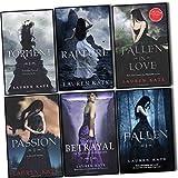 Lauren Kate Fallen Collection 6 Books Set Pack Set (Passion, Fallen, Torment, The Betrayal of Natalie Hargrove, Rapture, Fallen in Love)