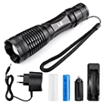 LE� 10W rechargeable et Zoomable CREE...