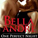 One Perfect Night Audiobook by Bella Andre Narrated by Eva Kaminsky