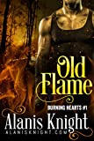 Old Flame: A BBW/Firefighter Romance Story (Burning Hearts Book 1)
