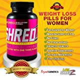 SHREDZ for Her: Weight Loss Pills for Women Fat Burner Metabolism Booster Supplement