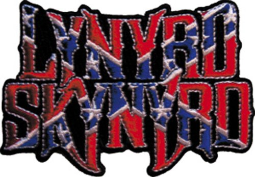 Application Lynyrd Skynyrd Flag Logo Patch