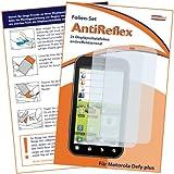 2 x mumbi Displayschutzfolie Motorola Defy+ Displayschutz AntiReflex antireflektierend für Motorola Defy + plus