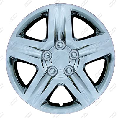 CCI IWC431-17S 17 Inch Clip On Silver Finish Hubcaps - Pack of 4