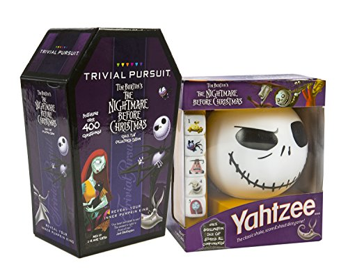 Maven Gifts: The Nightmare Before Christmas: Trivial Pursuit and Yahtzee