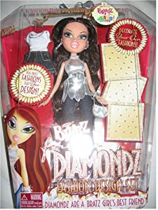 Amazon.com: Bratz Forever Diamondz Katia Doll: Toys & Games