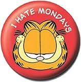Official Merchandise Mini Button Badge - Garfield I Hate Mondays