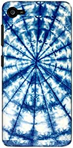 The Racoon Grip blue swirl hard plastic printed back case/cover for Lenovo Z2 Plus