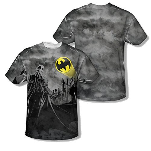DC Batman Laugh Clown All Over Front/Back T-Shirt