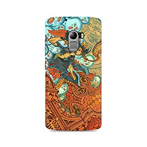 Mobicture Pattern Premium Designer Mobile Back Case Cover For Lenovo K4 Note