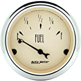 Auto Meter 1815 Antique Beige Fuel Level Gauge