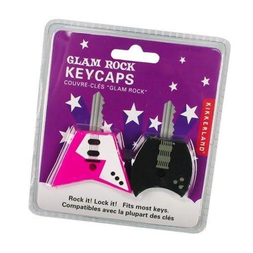 Kikkerland Kr80-A Assorted Styles Guitar Key Caps, Set Of 2