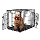 Brand New 30 EliteField Two Door Folding Dog Crate 30 long x 21 wide x 24 high, Product Quality Guarantee, 100% Money Back Guarantee, Customer Satisfaction Guarantee, 5-size and 3-color Metal Crates, 4-size and 4-color Soft Crates, 5-size Metal Pens, 3-size Soft Pens, for more information, please cl