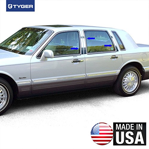 made-in-usa-fit-1990-1997-lincoln-mercury-town-car-stainless-steel-door-pillar-posts-chrome-cover-wi