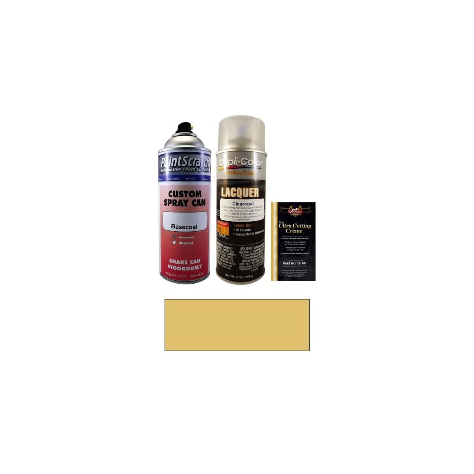 12 5 Oz Bamboo Beige Spray Can Paint Kit For 1981 Porsche
