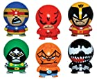 Marvel Heroes Buildables Vending Capsule Toys - series 2 - set of 6