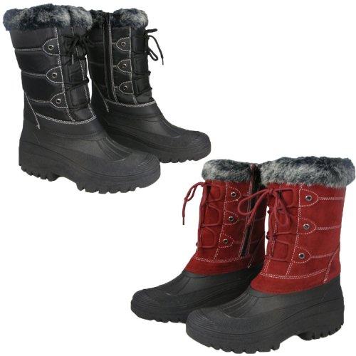 Ladies Womens Riding Yard Mucker Rain Winter Stable Boots Size UK 3-8