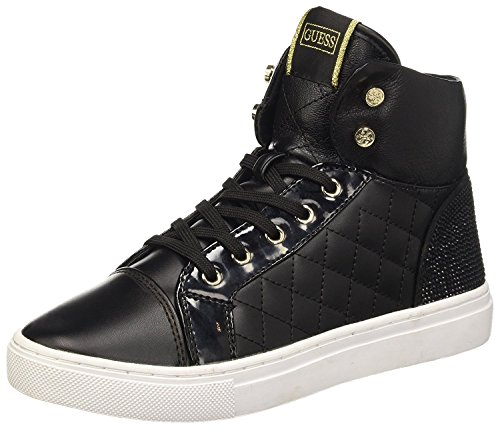 Guess Sneaker Donna Janis4 Leather Black_37