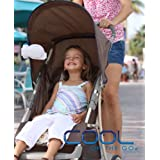 Stroller Fan-Cool On The Go - The World's Frist Versatile Hands-free Personal Air Cooling System. Small Fan Cooler...