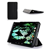 ProCase SlimSnug Case for NVIDIA Shield Tablet, Ultra Slim and light, Hard Shell Cover, with Stand, Exclusive for 2014 NVIDIA Shield 2 Tablet (Black)