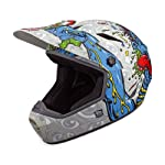 Bell Drop BMX/Downhill Helmet, Grey/Blue Jimbo Phillips Choke, Medium
