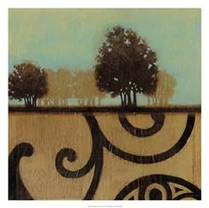 Mediterranean Twilight II Poster Print by Norman Wyatt Jr. (25 x 25)