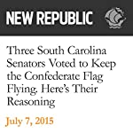 Three South Carolina Senators Voted to Keep the Confederate Flag Flying. Here's Their Reasoning | Naomi Shavin