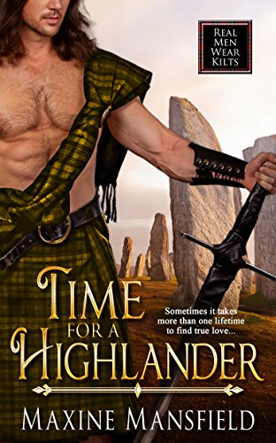 Everything is fine until Bethany wakes up in 1643 in the body of twenty-year-old Lady Elspeth Frasier….  Time For A Highlander by Maxine Mansfield  A must if you like men in kilts—and time traveling romance