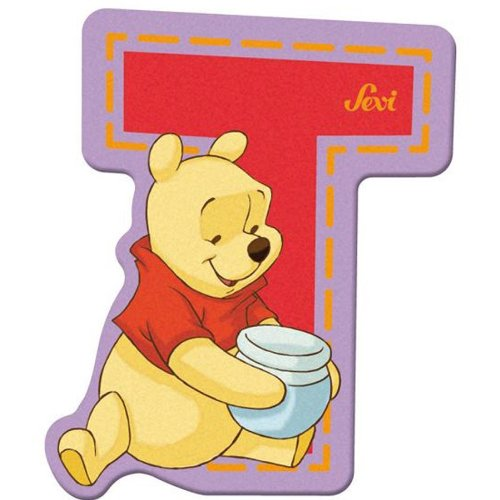 Sevi 82778 Klebebuchstabe T Winnie the Pooh