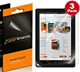 SUPERSHIELDZ- High Definition (HD) Clear Screen Protector For Barnes & Noble Nook HD+ 9 inch Tablet + Lifetime Replacements Warranty [3-PACK] - Retail Packaging
