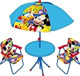 Disney Mickey Mouse clubhouse Garden set (Table and chairs)