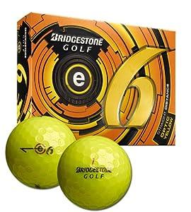 Bridgestone Precept 2013 e6 Optic Yellow 1-Dozen Golf Balls by Bridgestone