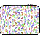 Snoogg Polygon Pattern 2470 12 To 12.6 Inch Laptop Netbook Notebook Slipcase Sleeve