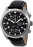 Seiko Mens SNN231P2 Black Dial With Chronograph Watch