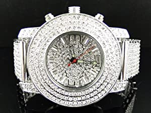 Bling Master Custom Lab Diamond Iced Out Watch