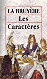 Les caract�res de Th�ophraste par La Bruy�re