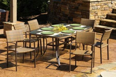 Tortuga Maracay 7-Piece Outdoor Dining Set