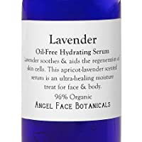 Oil-Free Lavender Hydrating Serum for Face and Body - Balancing, Clarifying and Oil-Controlling - Vegan and Organic 2 oz from Angel Face Botanicals