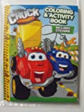Tonka Chuck and Friends Coloring and Activity Book 144 Pg with Stickers.