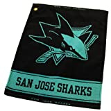 NHL San Jose Sharks Woven Towel at Amazon.com