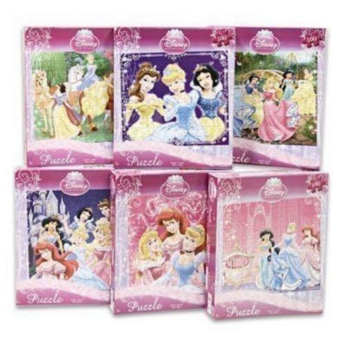 Cheap Fun Disney Princess 100-Piece Jigsaw Puzzle (Assorted designs) (B00395880C)