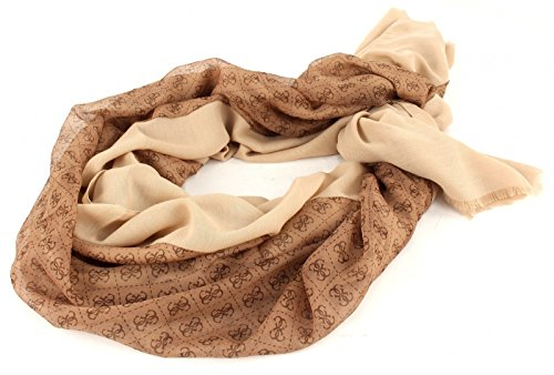 GUESS Cooper Scarf Brown thumbnail