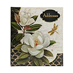 C.R. Gibson Refillable Address Book, Gilded Radiance (A1-14085)