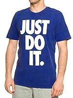 Nike Camiseta Manga Corta Solstice Jdi (Azul)