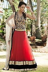 Designer PINK VELVET,NET Bollywood Replica Lehenga Choli
