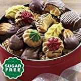 Wisconsin Cheeseman Sugar-Free Old-Fashioned Cookies Gift Tin