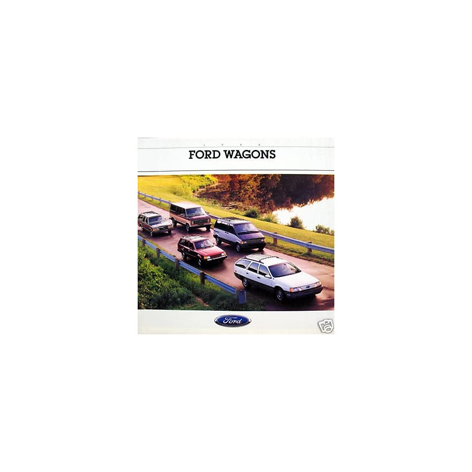 1988 Ford Wagons vehicle brochure