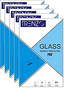 (Pack Of 5) MOTOROLA MOTO Z Tempered Glass Screen Protector By TRENZO
