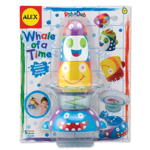 ALEX Toys Rub a Dub Whale of a Time